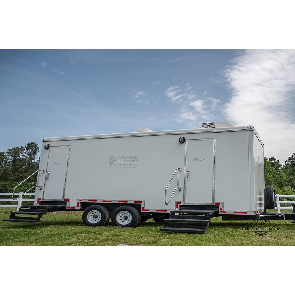 LUXURY 7-Stall Restroom Trailer